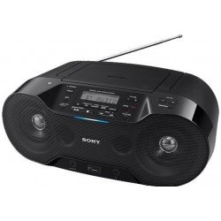 Radio CD/FM Sony ZS-RS70BTB Bluetooth USB NFC 4.6W