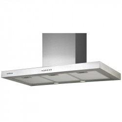 Campana Decorativa Edesa Urban BOX91-XA Inox Led A