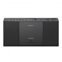 Radio portátil Sony ZS-PE60 Negro CD-R/RW MP3 USB 2.2V