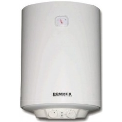Termo Eléctrico Rommer M 50 Vertical 47L Blanco 1.500W