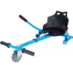 Silla Hoverboard Icarus IC-SP620 Azul Reposapiés Regulable
