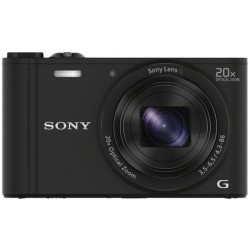Cámara Digital Sony DSCWX350B.CE3 Negra 18.2 MP 20X