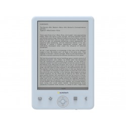 E-books Sunstech EBI8LTOUCH Blanco 8GB Touch Screen
