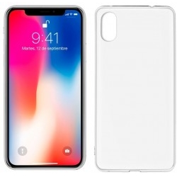 Funda Silicona Cool Accesorios IPhone X Transparente