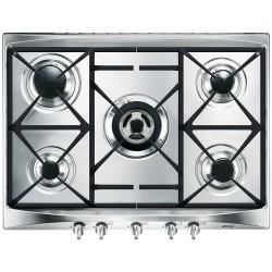 Placa Smeg SR275XGH Gas Natural Inox 5 Fuegos