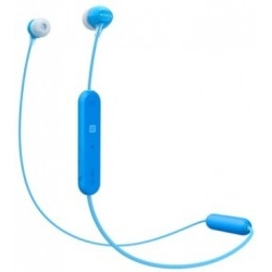 Auricular Sony WI-C300 Azul Bluetooth 4.2 NFC 8 Horas 9MM