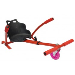 Silla Hoverboard Icarus IC-SP620 Rojo Reposapiés Regulable