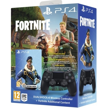 sony-dualshock-negro-v2fortnite-ps4