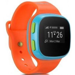 Smartwatch Alcatel MOVE TIME Track Talk Naranja Azul OLED