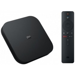 Descodificador TV Xiaomi MI BOX S Google Home APP Negro