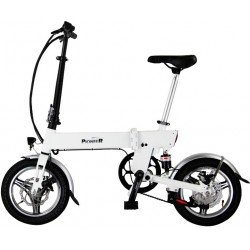 Scooter Pioneer City Storm Blanco Eléctrico 19KG LCD 45KM