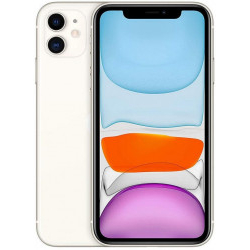 "Apple IPhone 11 128GB Blanco 6.1"" A13 Bionic 2 Cámaras"