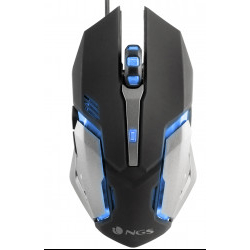 Ngs GMX-100 - Ratón Gamer 5 Botones 7 Colores LED