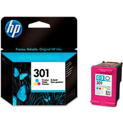 Cartucho Hp 301 Tri-color Ink Cartridge CH562EE
