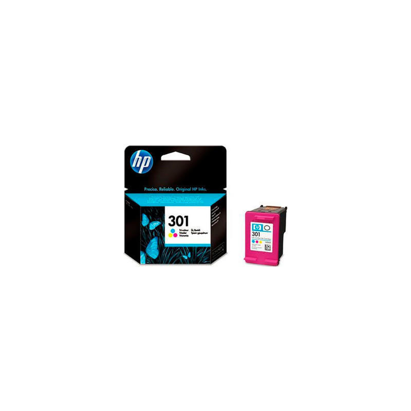 cart hp 301 tricolor ink cartridge ch562eeabe