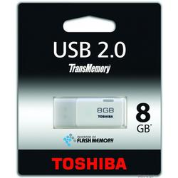 PENDRIVE TOSHIBA FLASH 8GB 2.0 THNU08HAY_BL5