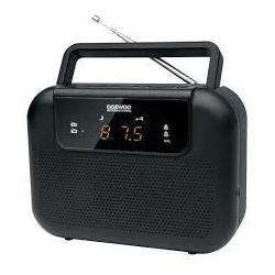 Radio Portable Drp-27b Negro Digital