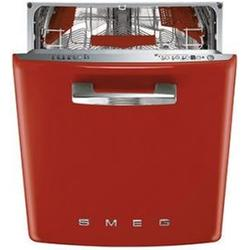 Lavavajillas SMEG ST2FABR2 Color Rojo Integreble 13 Cubiertos