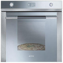 Horno Smeg SF122PZ 60Cm inoxidable silver glass