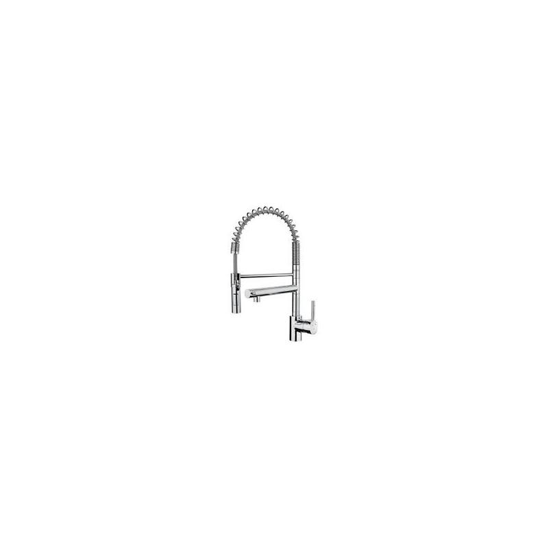Teka ark 999 cromo grifo inox flexible ca o alto for Grifo teka ark938