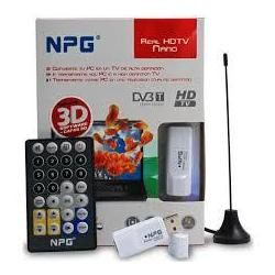 Tdt ngp real hdTelevision nano c30e40tv-dv usb2.0 Npg / Optitecnica Sa