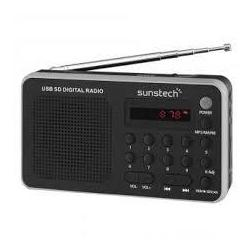 Radio Portátil Digital Sunstech RPDS32SL Silver