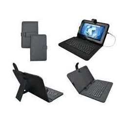 Funda Tablet Sunstech Key9bk Negra Funda Universal Para Tablet De 9""