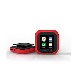 Reprod. Mp4 Sunstech Shiva4gbrd Rojo 4gb Con Podometro