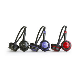 Auriculares Energy E510 Dj Ruby Red