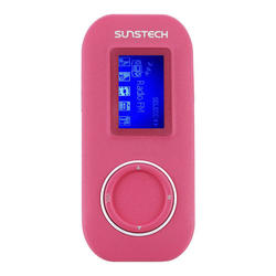 MP3 Sunstech Fauno 4GB Rosa Sunstech