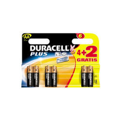 Duracell Pack 6 Ahorro Plus Aa lr 06 Plus Power