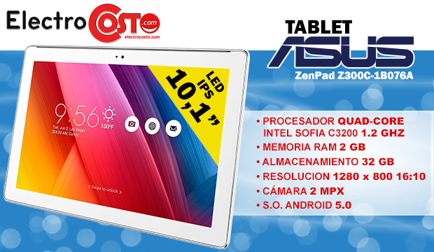Sorteo Tablet Asus