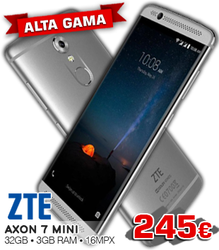 Móvil ZTE Axon 7