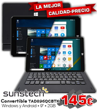 Oferta convertible sunstech