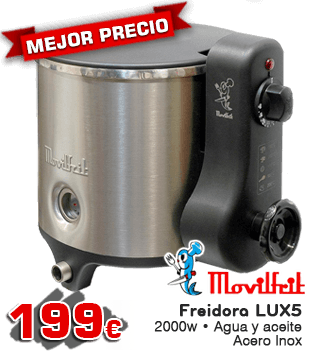 Freidora Movilfrit lux5