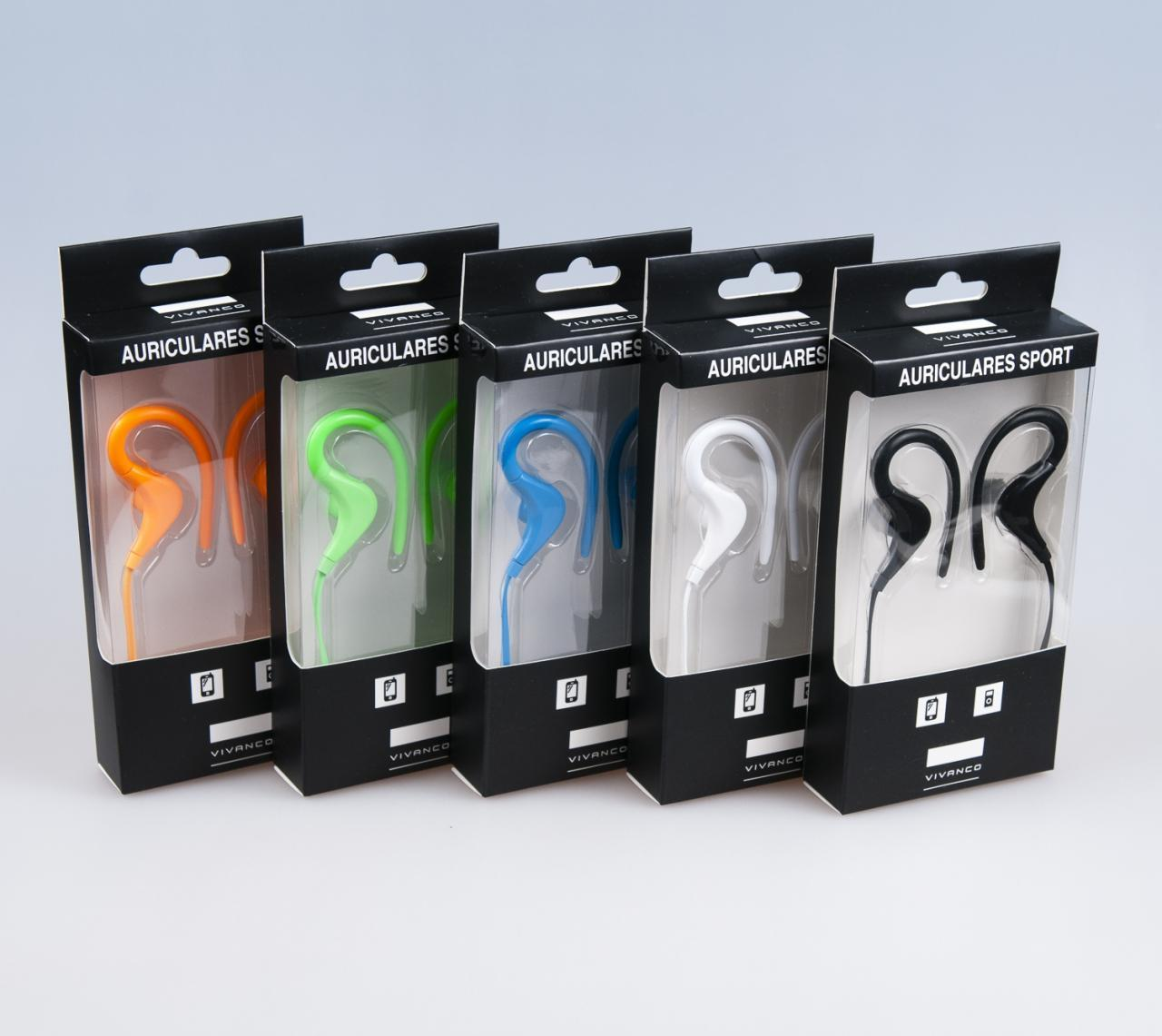 Auriculares Vivanco Sport Color 76823