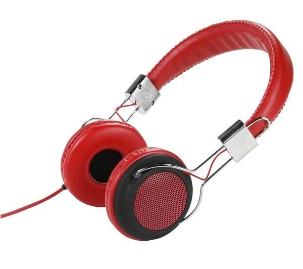 Auriculares Street Style Vivanco Col 400 Red Headphones Rojos