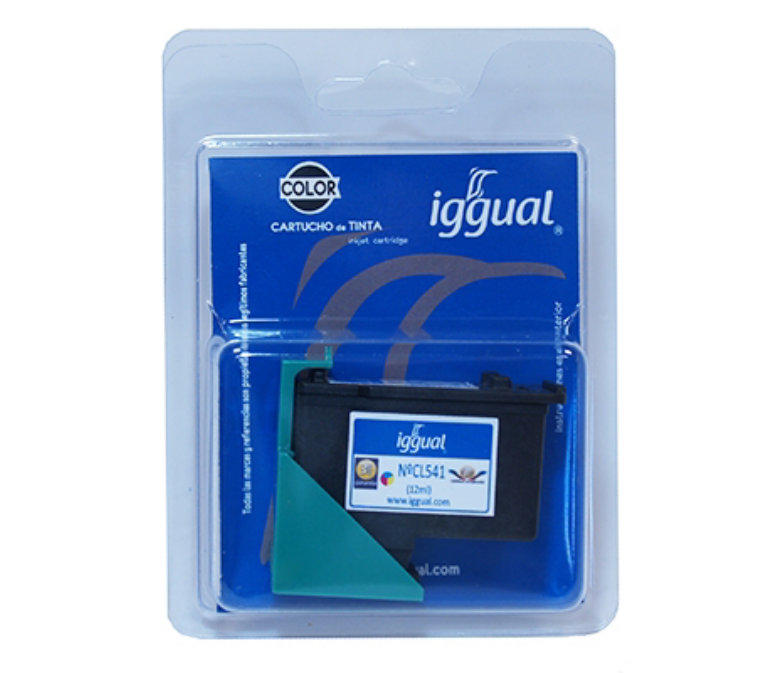 Cartucho Color Iggual PSICL541 Canon CL-541