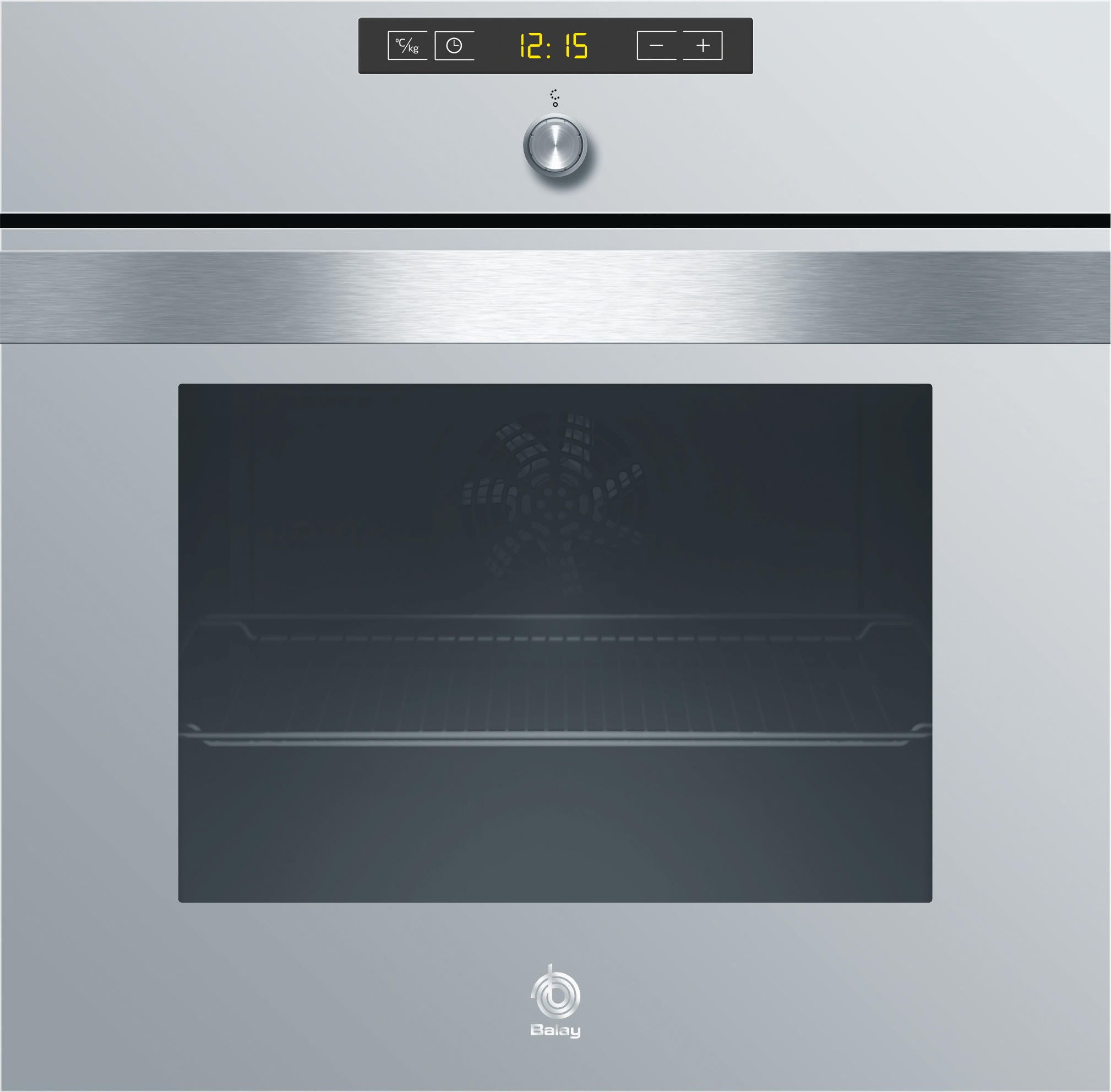 Horno Balay 3HB558XCT Pirolítico Gris 60CM Integrable AutoChef