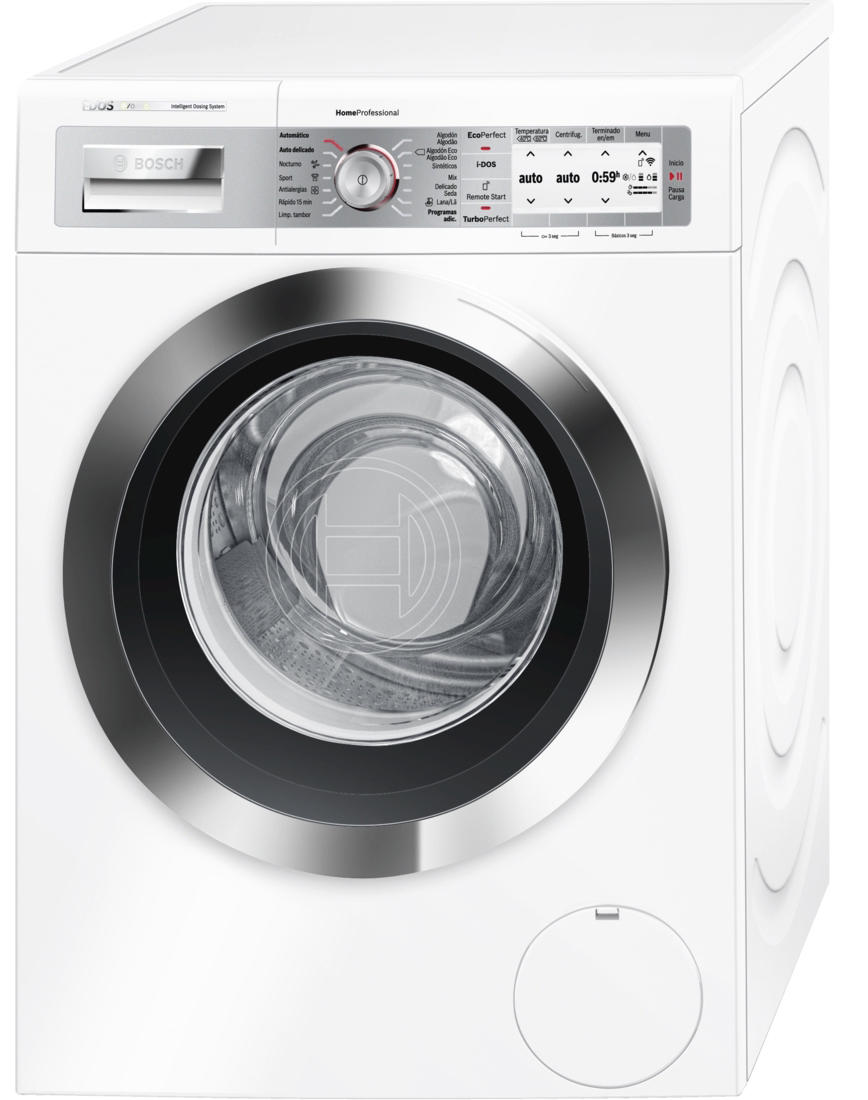 Lavadora Bosch WAYH890ES Carga Frontal Blanco Home Connect