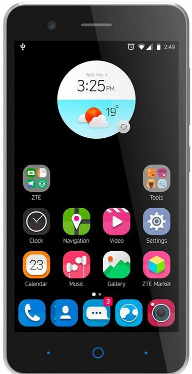 Smartphone ZTE A510 Gris 1GB RAM 13MPX 8GB Android
