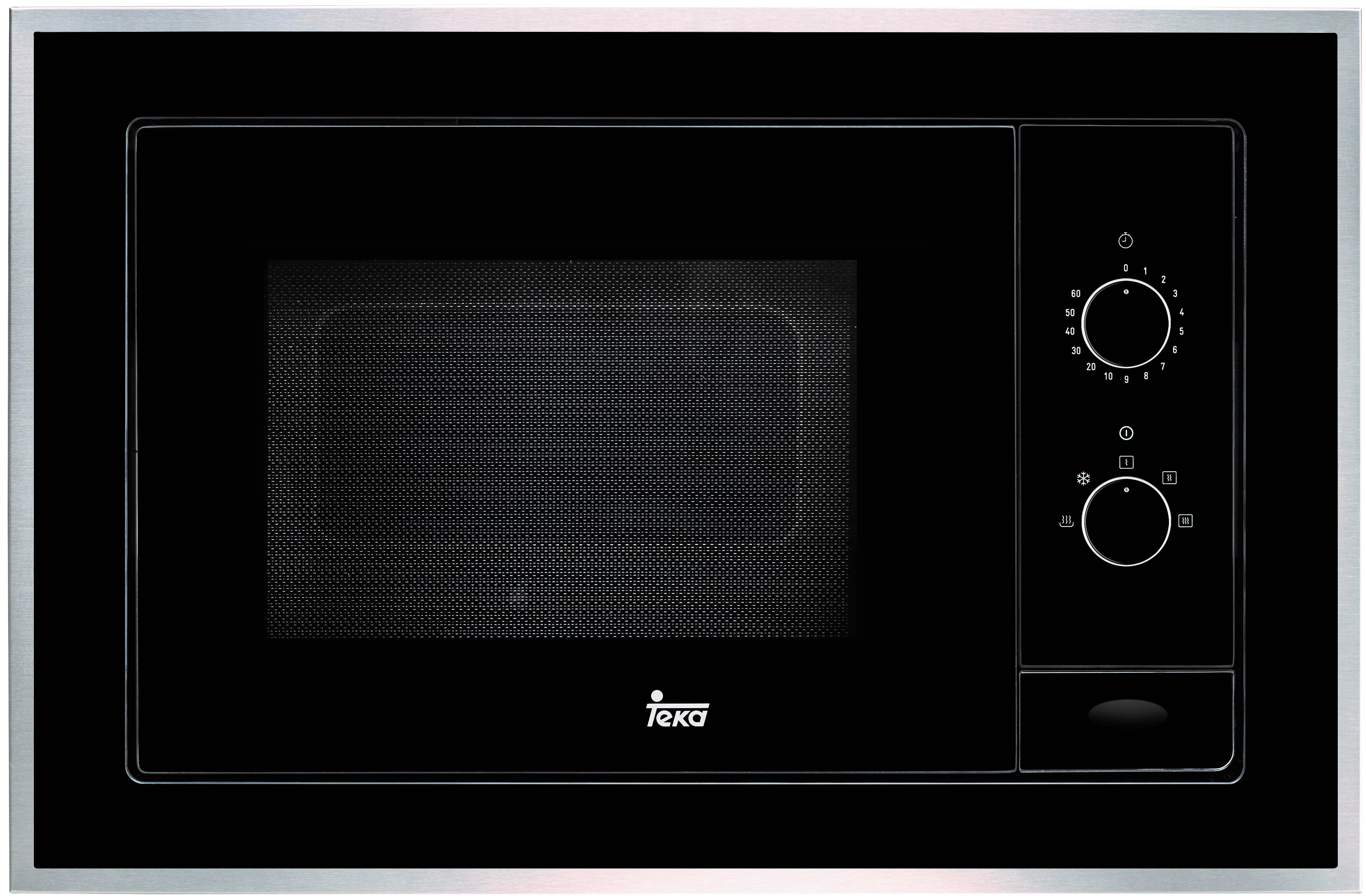 Microondas Teka ML 820 BI Negro Integrable 22 Litros