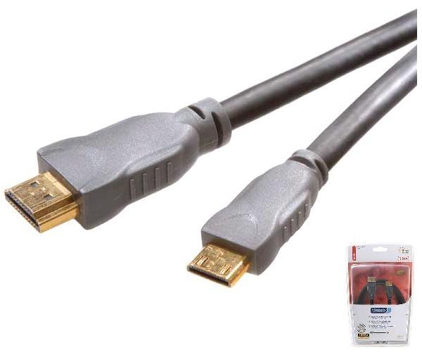 Cable Vivanco 42112 HDMI a MiniHDMI 1.5M 4K 3D