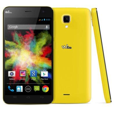 Movil Wiko Bloom Amarillo 4.7