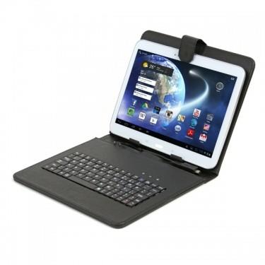 Funda Tablet Omega OCT7KBSES/SW Con Teclado MicroUsb