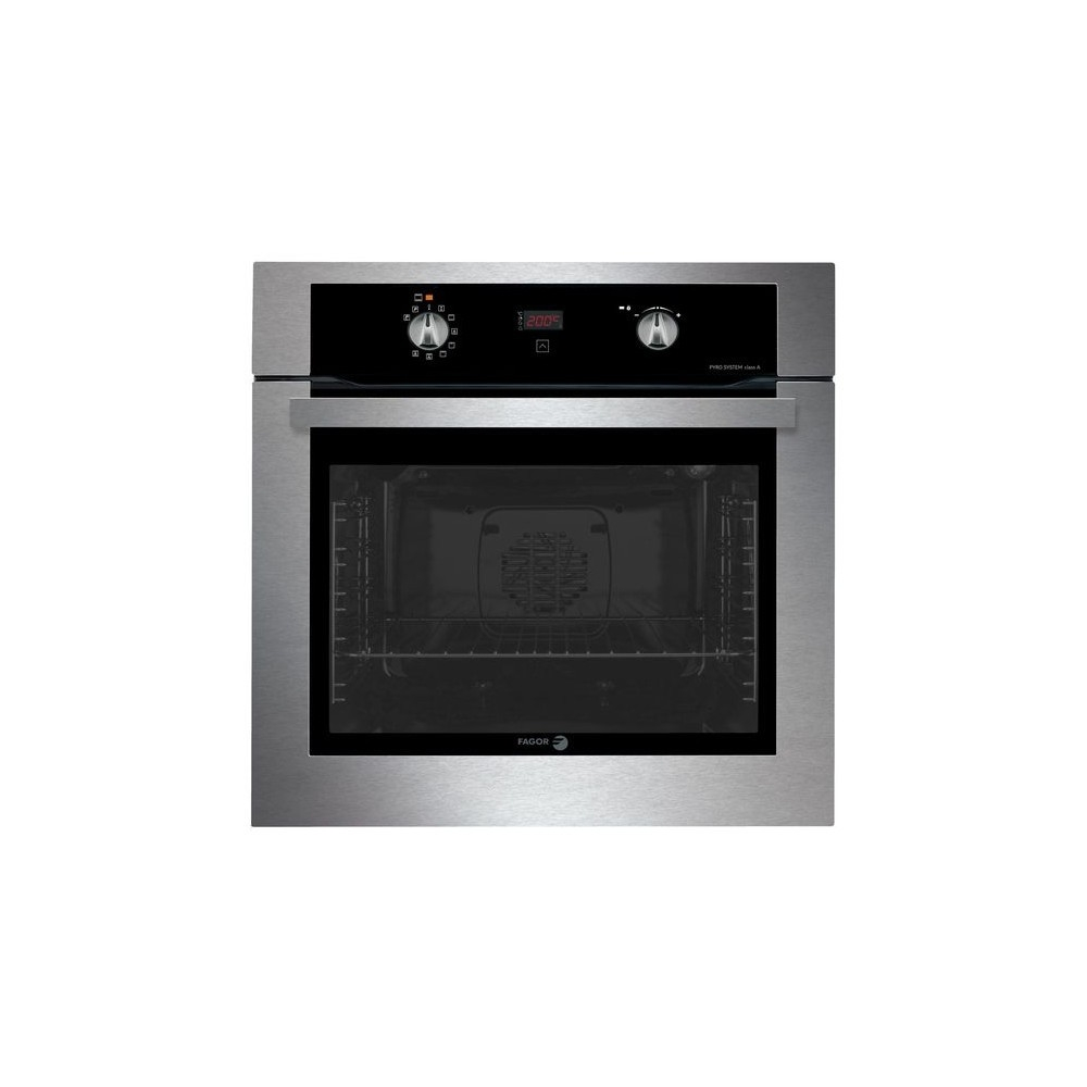 Horno Fagor 6H755CX Pirolitico Multifuncion 7 Display Inox
