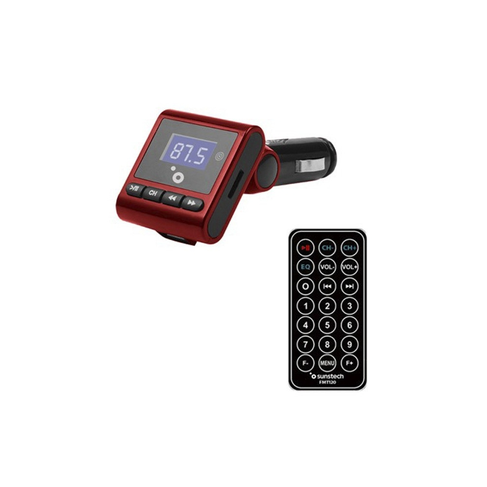 Reproductor MP3 MP4 MP5 Sunstech FMT120RD Rojo FM