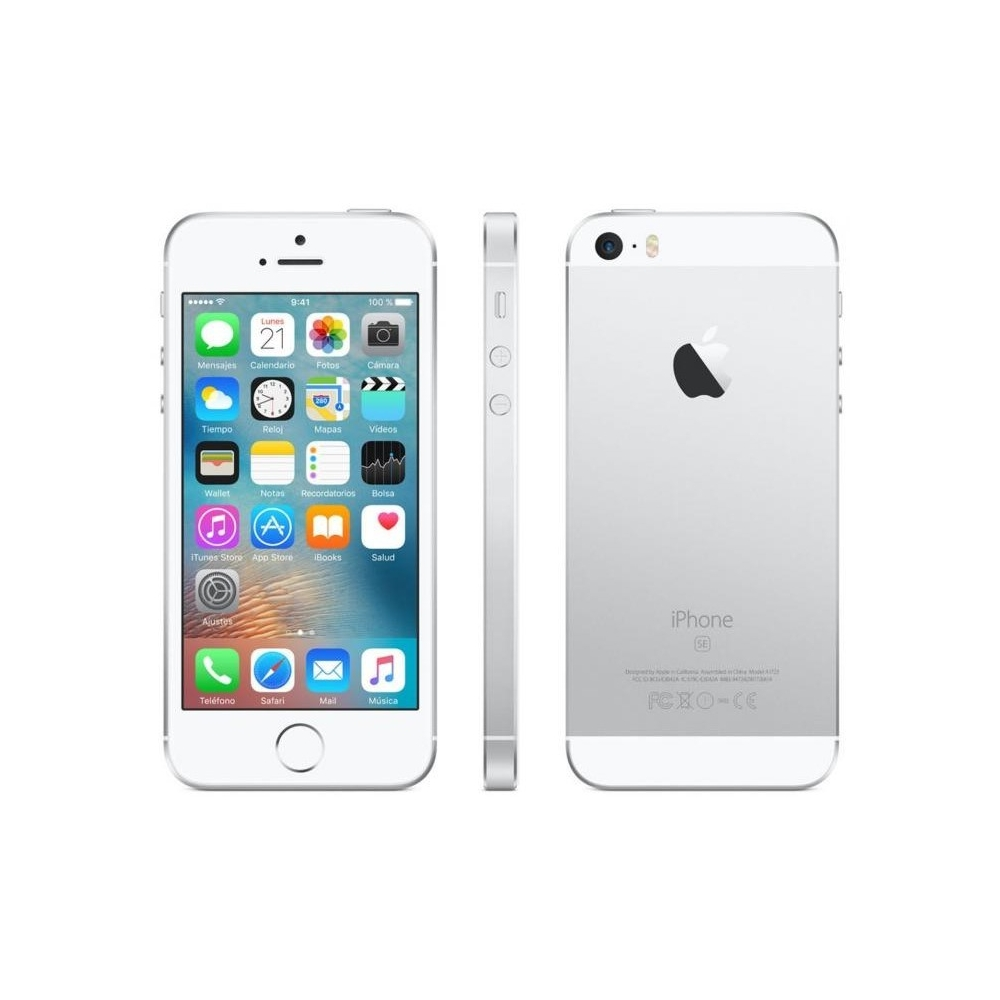 Apple iPhone SE MP832Y/A Plata 32GB 4