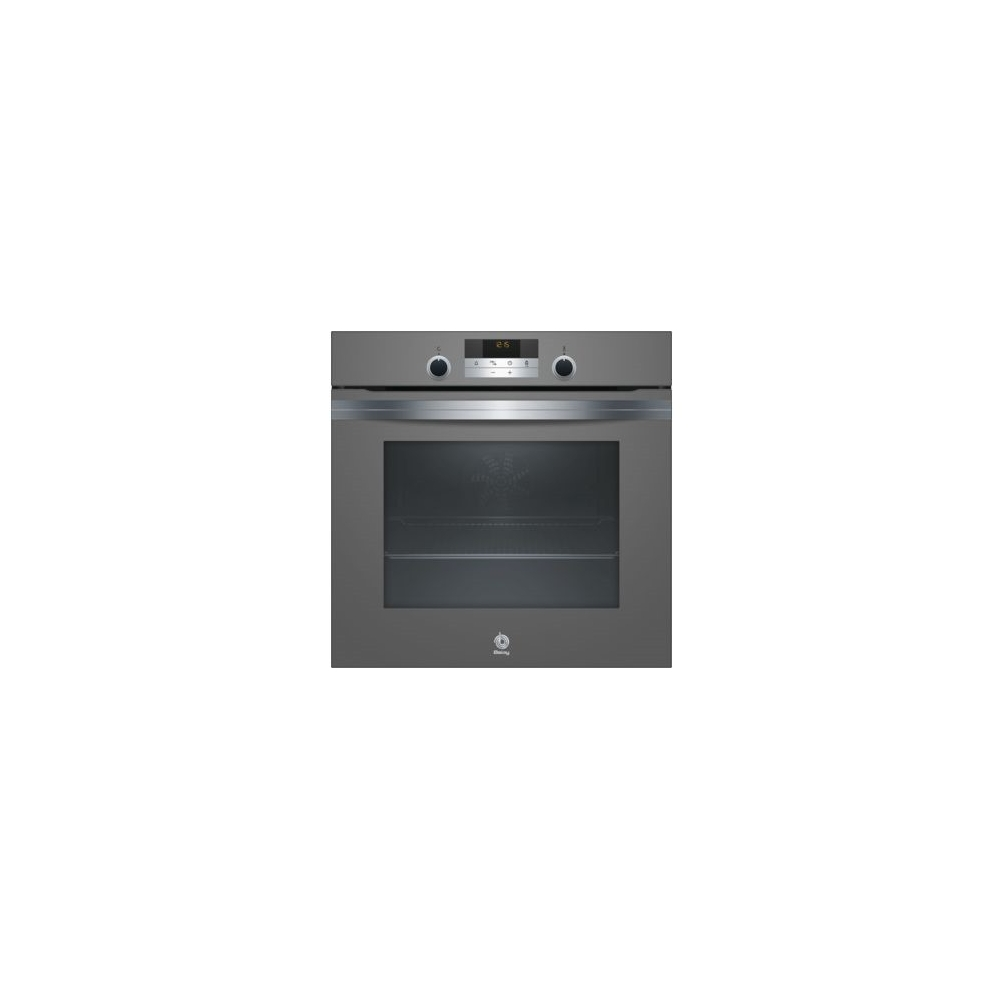 Horno Balay 3HB4331N0 Cristal Gris Antracita Integrable Aqualisis A