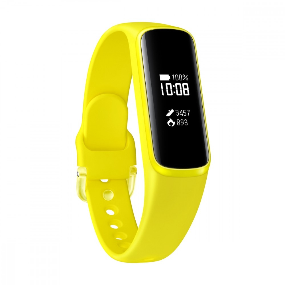 Reloj Pulsera Samsung Galaxy Fit E Amarillo PMOLED